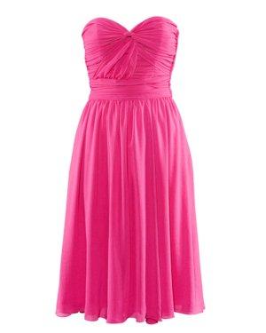 Neu! H&M Kleid Pink Trägerlos Blogger Style