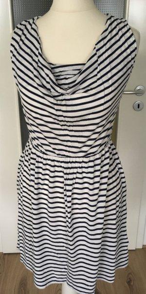 Neu H&M Mini Kleid Tunika XS 34 Streifen Top Oberteil Longtop Streifenkleid