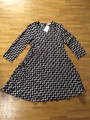 Neu! H&M Retro A-Linien Blogger Kleid XS 32 34