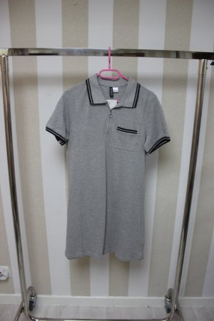 NEU H&M SHIRT KLEID POLO CHIC