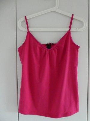 NEU – H&M – Spagettiträger-Top, pink