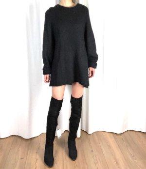 Neu! H&M Trend Premium Wildleder Overknee Stiefel Cosy Clean Chic Boots