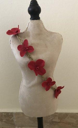 NEU Haarband pink kleine Blüten Rosen Haarband Haarschmuck Hippie Festival