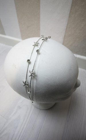 Cerchietto per capelli argento