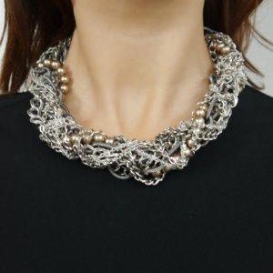 Neu, Halskette von Gabriele Frantzen, Chunky Chain Kette silber