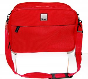 Trolley neon red nylon