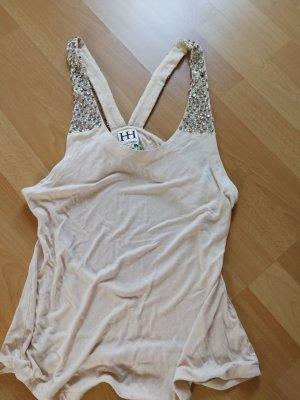 NEU Haute Hippie Top in creme Gr. M