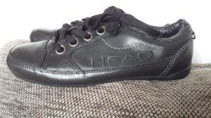 Neu Head Turnschuhe Sneaker Boots Halbschuhe Schuhe Schwarz Leder gr 37