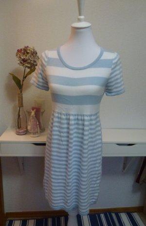 *NEU* Hellblau-weiß-gestreiftes süßes Sommerkleid Gr. S (36/38)