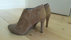 NEU High Heels Stiefelette Leder, Größe 38 von Taupage