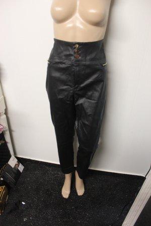 NEU High Waist Lederhose Kunstlederhose Disco Pants