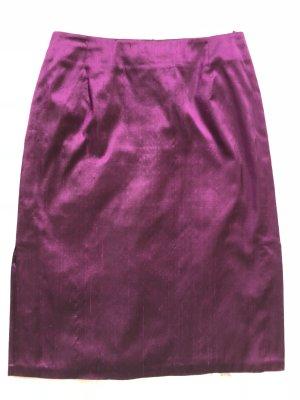 Hirsch Zijden rok violet