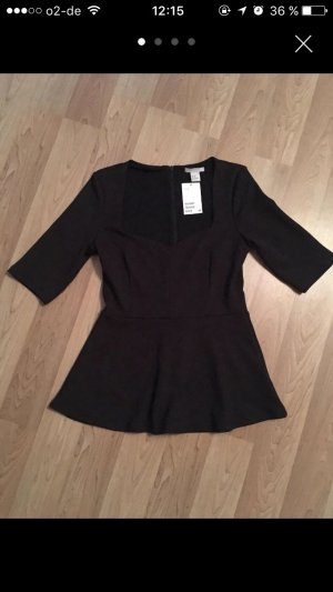 H&M Shirt Dress black