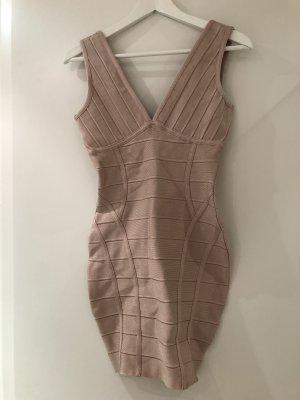 Stretch Dress dusky pink spandex