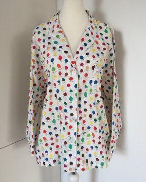 NEU - Hochwertiges, gepunktetes Pyjama-Oberteil - von Sleepy Jones, Gr. XL