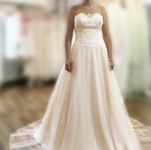 Bianco Abito da sposa multicolore