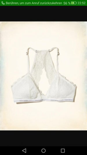 NEU Hollister Gilly Hicks Bralette weiß