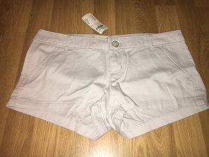 Neu Hollister Shorts 5 w27 beige NP 44€