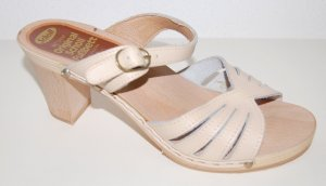 Dr. Scholl Heel Pantolettes oatmeal leather