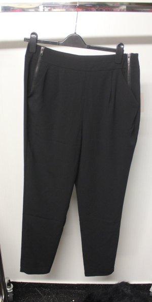 NEU Hose leicht High Waist mit Zipper Details