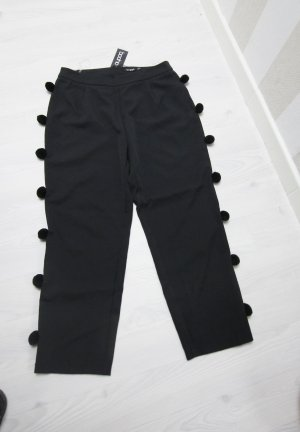 Boohoo 7/8 Length Trousers black