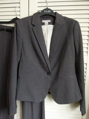 H&M Costume business gris anthracite