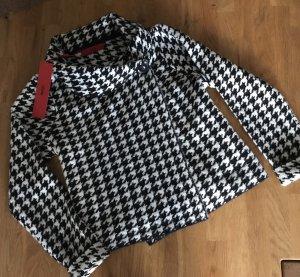 Hugo Boss Knitted Blazer black-white new wool