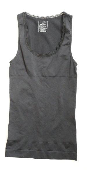 * NEU * Hunkemöller Shapewear schwarzes Top L 40 Figurformendes  Shirt schwarz
