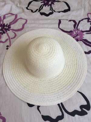 Manguun Cappello parasole bianco sporco-crema