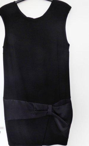 NEU | IKKS | Dunkelblaues, elegantes, ärmelloses Kleid