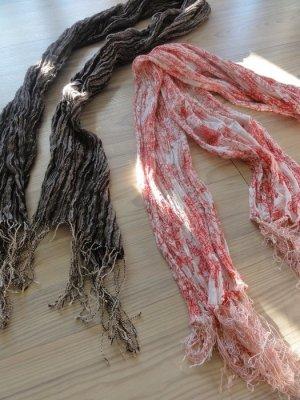 NEU + im Trend sein mit diesen floralem Schal für Dich + Tuch only edc NEU