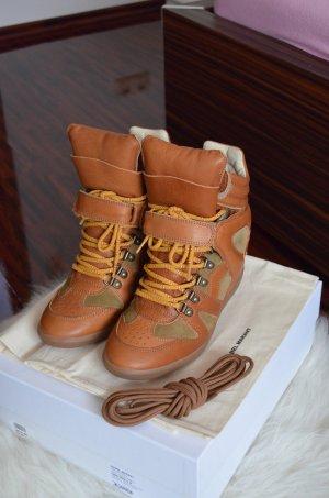 NEU Isabel Marant Bekett Wedge Sneaker braun Gr. 38