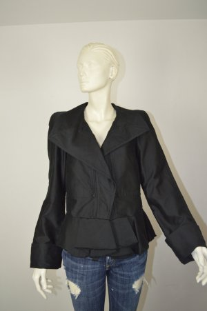 Isabel Marant Denim Blazer black cotton
