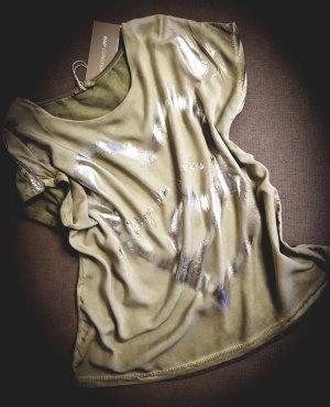 Blusa verde oliva-cachi