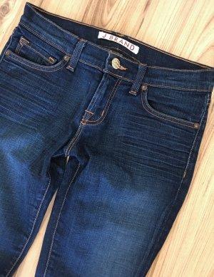 NEU J Brand Low Waist Röhren Jeans XS 34 W26 Slim Fit Ankle Skinny Jeans