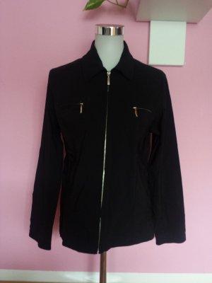Biaggini Jacket black-silver-colored viscose