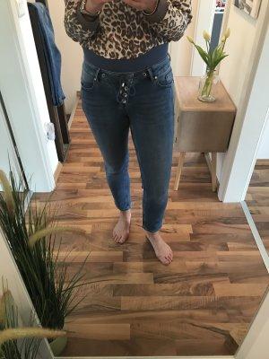 Buena Vista Stretch Jeans cornflower blue-steel blue