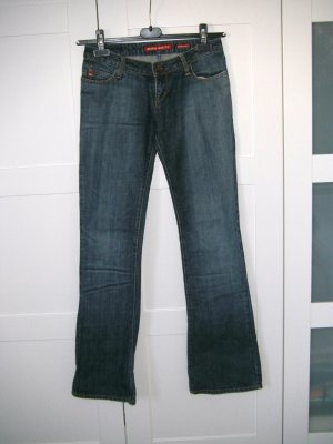 NEU, Jeans, Miss Sixty, Extra Low Ty, Boot-Cut, Schlaghose, Schlagjeans, Gr. 25