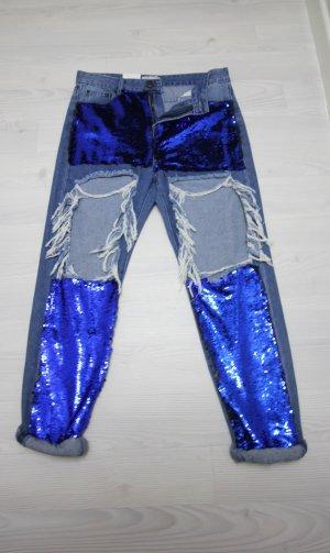 7/8 Length Jeans blue
