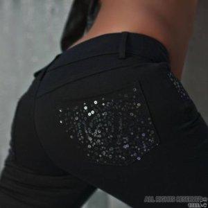 NEU!! Jeans mit Pailletten in Gr. 36