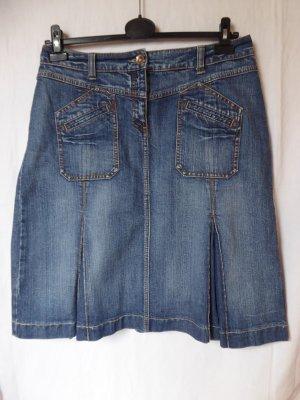 NEU: Jeans-Rock mit Falten von S.Oliver