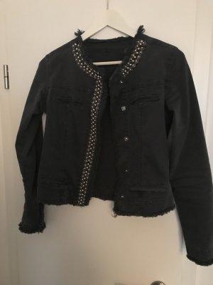 Denim Jacket anthracite-black