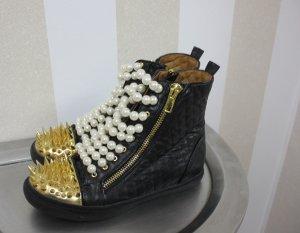 NEU Jeffrey Campbell Sneaker Perlen High Top Nieten