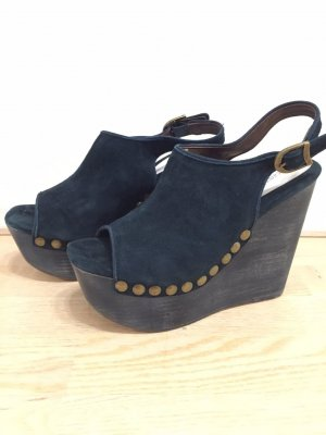 Jeffrey Campbell Wedge Sandals forest green