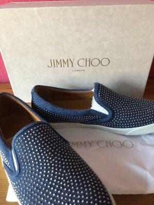 NEU! Jimmy Choo sportlich eleganter Canvas Slipper 39,5