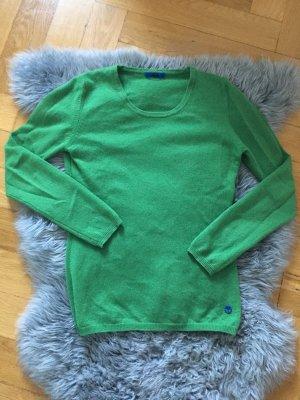 NEU Joop Cashmere Pullover Pulli Kaschmir XS 34 36  grün Strick