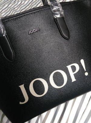 NEU! Joop! Logo Tasche Shopper schwarz