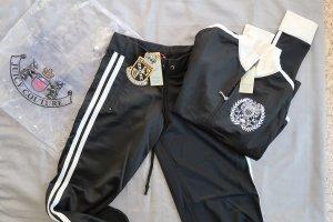NEU: Juicy Couture Jogginganzug, creme/schwarz, Gr. S, original! NP 100€