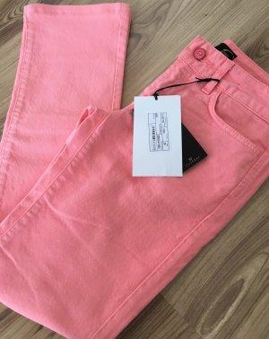 NEU Just Cavalli Slim Fit Hose Skinny Röhren Jeans W25 XS 32 34 Rosa