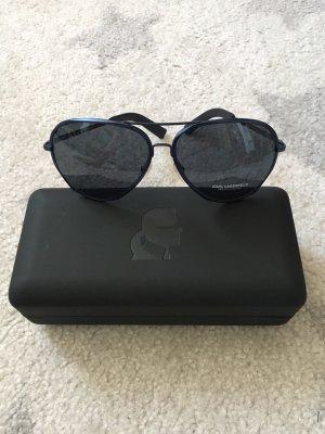 NEU Karl Lagerfeld Sonnenbrille dunkelblau